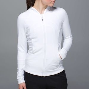 Lululemon Find Your Bliss Reversible Jacket White